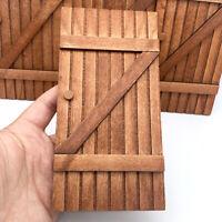 DIY Holz 1:12 Miniaturen Puppenhaus Tür Puppenhaus Möbel ZubehörWP4