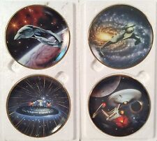 4 Star Trek Starships Mini Plate Collection 1997