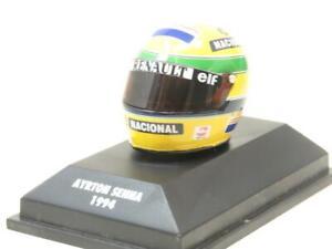 Minichamps 540 389402  A Senna Bell Helmet 1.8 Scale Boxed