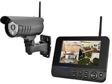 """KIT TELECAMERA VIDEOCAMERA VIDEOSORVEGLIANZA WIFI + MONITOR LCD CCTV 7"""" NUOVO"""