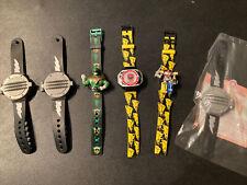 Power Rangers Lot of Early 90's Wrist Watches Rare Original Saban / McDonalds