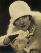 Beautiful Large Hand Signed Vintage 1920s Art Deco Fashion Photograph Flapper