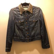 Current/Elliott Studded Denim Jacket
