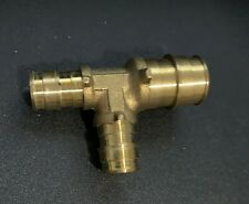 """(5) F1960 3/4"""" x 1/2"""" x 1/2"""" Pex Brass Tee Expansion Fittings"""