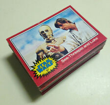 Star Wars - Series 2 (RED) - Trading Card Set (66) - 1977 Topps - EX/NM-MT