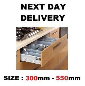 SOFT CLOSE DRAWER BOX LIKE BLUM  - LOW - ALL SIZES 300-550 MM