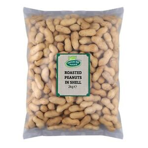 Roasted Peanuts in Shells (Monkey Nuts) 2kg