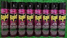 (13,59€/L) 8x RAID MULTI INSEKTEN SPRAY400ml gegen Kleidermotten Wespen,Fliegen
