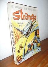 Lug     Strange   Album Relié  N° 21  ( 62-63-64 )    Nov12