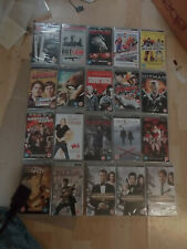 PSP UMD Movies  x 20 new & sealed including 3 x  james Bond 007  (box 91)