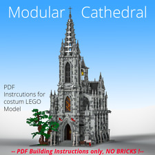 MOC Church/ Cathedral- costum LEGO building Instructions- PDF files only!