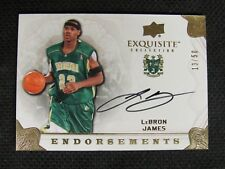 2011 UD Exquisite LeBron James Auto Endorsements #13/50 N311