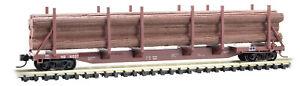 Micro-Trains MTL N-Scale 65ft 100-ton Log Car/Load Norfolk Southern/NS #111537