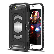 iPhone 7 8 Shockproof Slim Light Tough Case Cover for Magnetic Car Phone Holde