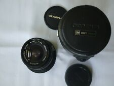 {MINT IN CASE} OLYMPUS OM-SYSTEM Zuiko Shift 35mm f/2.8 MF Lens, Japan #109581