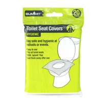 Summit Toilet Seat Covers x 20