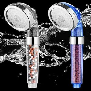 Bath Shower Head, Filtered Showerhead, 3 Water Modes, Body Shower Head, Turbo