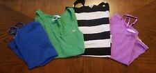 Women Juniors Lot of 4 Tank Tops Cami Size S USED GOOD FAIR CONDITION