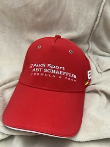 Audi Red Cap Hat Baseball Style Adjustable Strap Fit