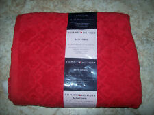 """New Tommy Hilfiger Embossed Cotton Bath Towel Collection 27"""" by 50"""""""
