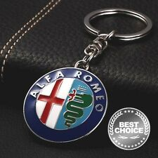 Key Keyring Keychain for: ALFA ROMEO GTA GTV SPIDER GIULIETTA ALFETTA ALFASUD V6
