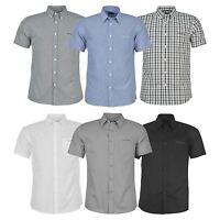 Pierre Cardin Mens C Short Sleeve Shirt Button Fastening Top