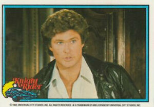 KNIGHT RIDER TV SERIES COMPLETE TRADING CARD SET 1983 TOPPS USA 1-55 USA RELEASE