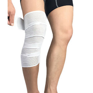 Elastic Bandages Knee Support Wraps Compression Sports Training Protective Gear
