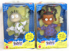 2 RARE 1998 RUGRATS SLUMBER PARTY COLLECTIBLE TOMMY SUZIE MATTEL NICKELODEON MIB