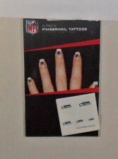 NFL SEATTLE SEAHAWKS 20  TEMPORARY FINGERNAIL TATTOOS FAST FREE SHIPPING