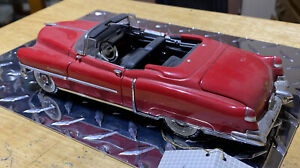 FRANKLIN MINT 1953  RED CADILLAC ELDORADO CONVERTIBLE  Preowned, No Box