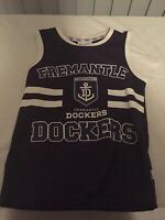 AFL Official Fremantle Dockers Jersey Youth Size 8 Height 130cm, Chest 68cm