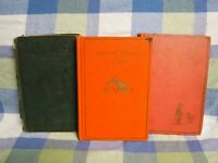 WINNIE THE POOH, NOW WE ARE SIX, THE HOUSE AT POOH CORNER 1926,1927,and 1928 SET