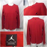Nike Air Jordan Jumpman Thermal Undershirt XL Red Long Sleeve Crew YGI B8-594