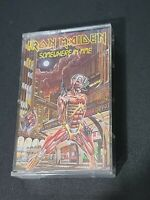 Iron Maiden: Somewhere In Time (1986) Cassette Complete in Case A14