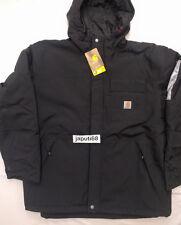 Carhartt Mens #102702 INSULATED (100g) Shoreline Jacket XL BLACK  [BN2A-2702]