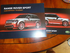Range Rover Sport Stomer Accessories Pack brochure 2006 German text