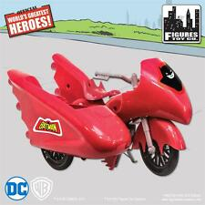 NEW RETRO BATMAN and ROBIN  DC Comics Batman red Batcycle Playset