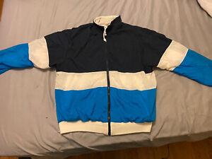 Vintage 90s Christian Dior Monsieur Mens Full Zip Track Jacket M OG