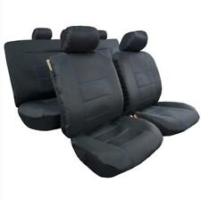 New Arrival 9pcs Combo Pack Black Outback Canvas Car Seat Cover Universal Size