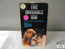 The Invisible Kid (VHS, 1990) Jay Underwood Chynna Phillips Karen Black