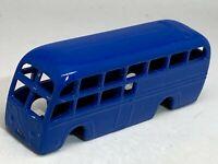 Matchbox Regular Wheels No 58 Blue AEC BEA Coach - Re-painted