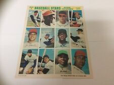 1969 MLB Baseball Stars Official Photostamps National League Series 9