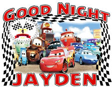 CARS LIGHTING McQUEEN Pillowcase Personalized Any Name Good Night Great Gift