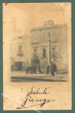Campania. RESINA, Napoli. Piazza del Plebiscito. Cartolina d'epoca viaggiata.