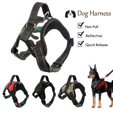 No-Pull Adjustable Dog Harness Reflective Outdoor Pet Vest for Medium Large Dogs