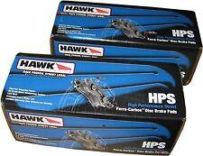 HAWK HPS Performance F&R PAD SET fits Subaru WRX STI 04-14 HB453F.585 HB180F.560