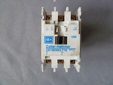 CUTLER HAMMER CE15ENS2-T16 CONTACTOR 25A 600V