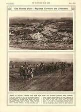 1916 Somme Front German Captives Combles Canadian Anti-aircraft Guns Artillery