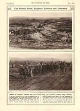 1916 Somme Front German Captives Combles Canadian Anti-aircraft Guns Artillery